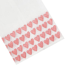 Load image into Gallery viewer, Pink Full Hearted Tip Towels - Maisonette Shop