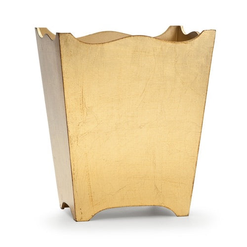 Classico Gold Wastebasket - Maisonette Shop