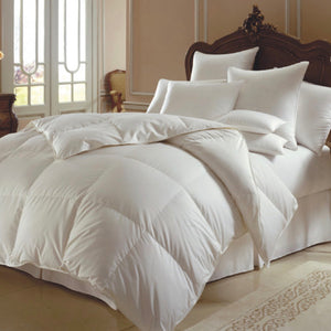 Himalaya 700 Fill Power White Goose Down European Comforter - Maisonette Shop