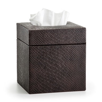 Conda Brown Tissue Cover - Maisonette Shop