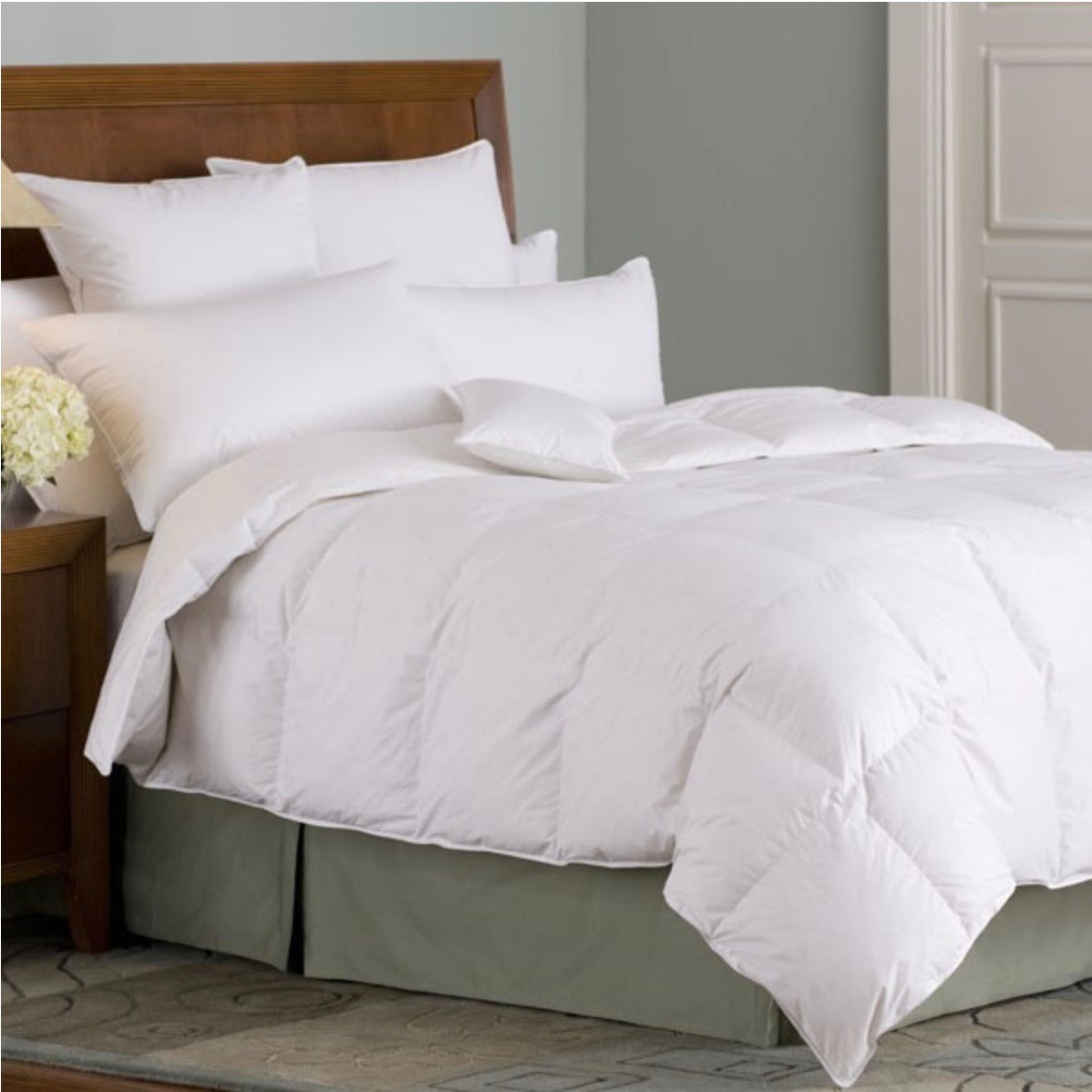 Organa 650 Fill White Goose Down Comforter - Maisonette Shop