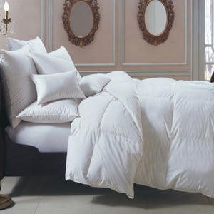 Bernina 650 Fill Power White Goose Down European Comforter - Maisonette Shop