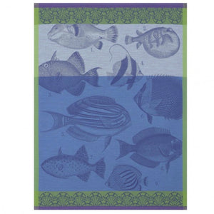 Moorea Ocean Tea Towel - Maisonette Shop
