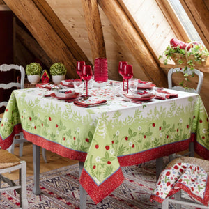 Fruits d'Été Anti Stain Finished Table Linens - Maisonette Shop