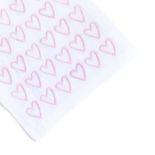 Pink Empty Hearted Cocktail Napkin Set - Maisonette Shop