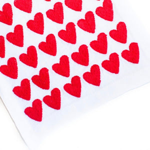 Red Full Hearted Cocktail Napkin Set - Maisonette Shop