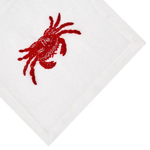 Boiled Crab Cocktail Napkin Set - Maisonette Shop