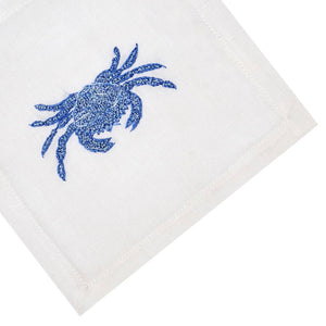 Blue Crab Cocktail Napkin Set - Maisonette Shop