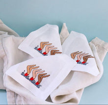Load image into Gallery viewer, Synchronized Swimming Cocktail Napkins - Maisonette Shop