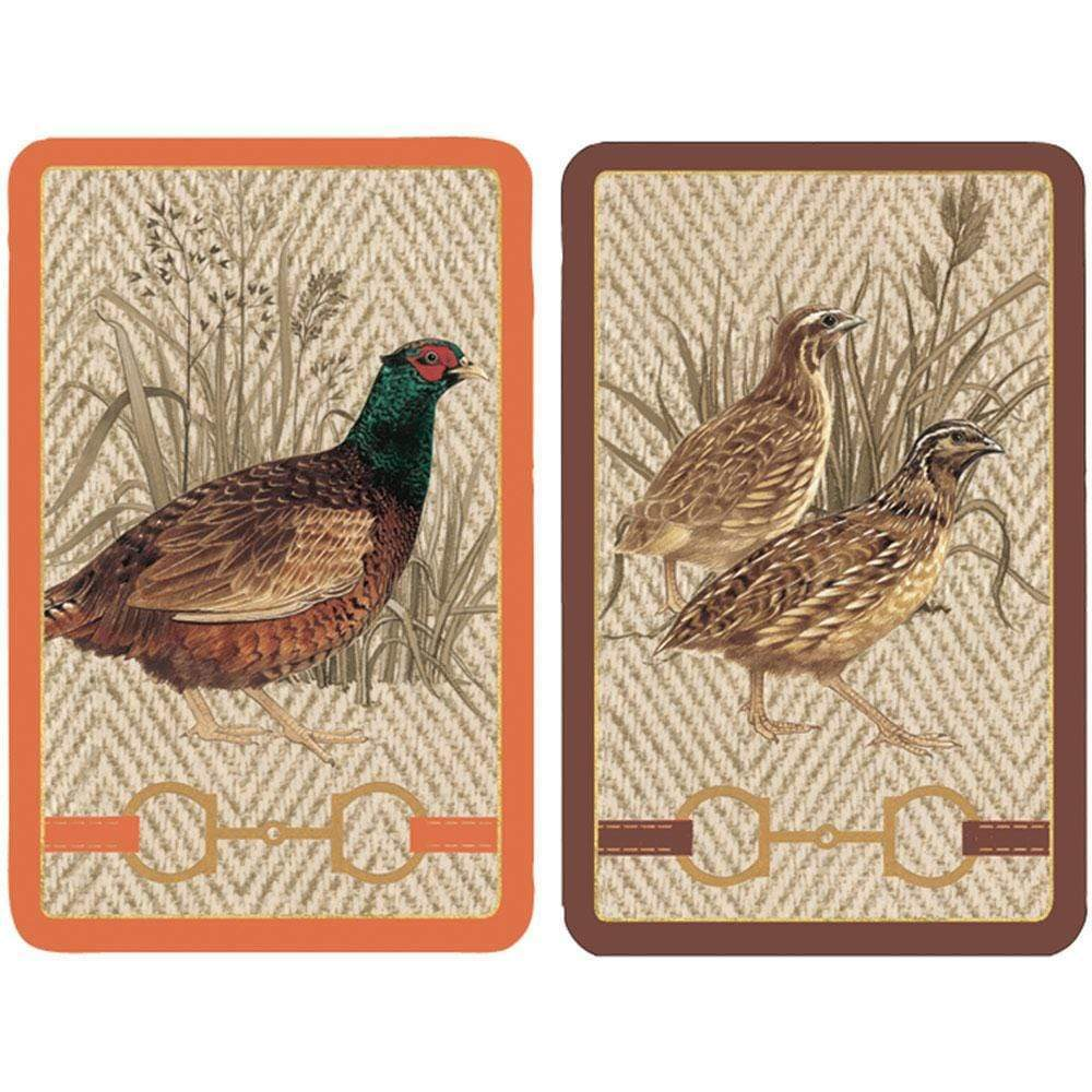 Albemarle Hall Large Type Playing Cards - 2 Decks Included - Maisonette Shop
