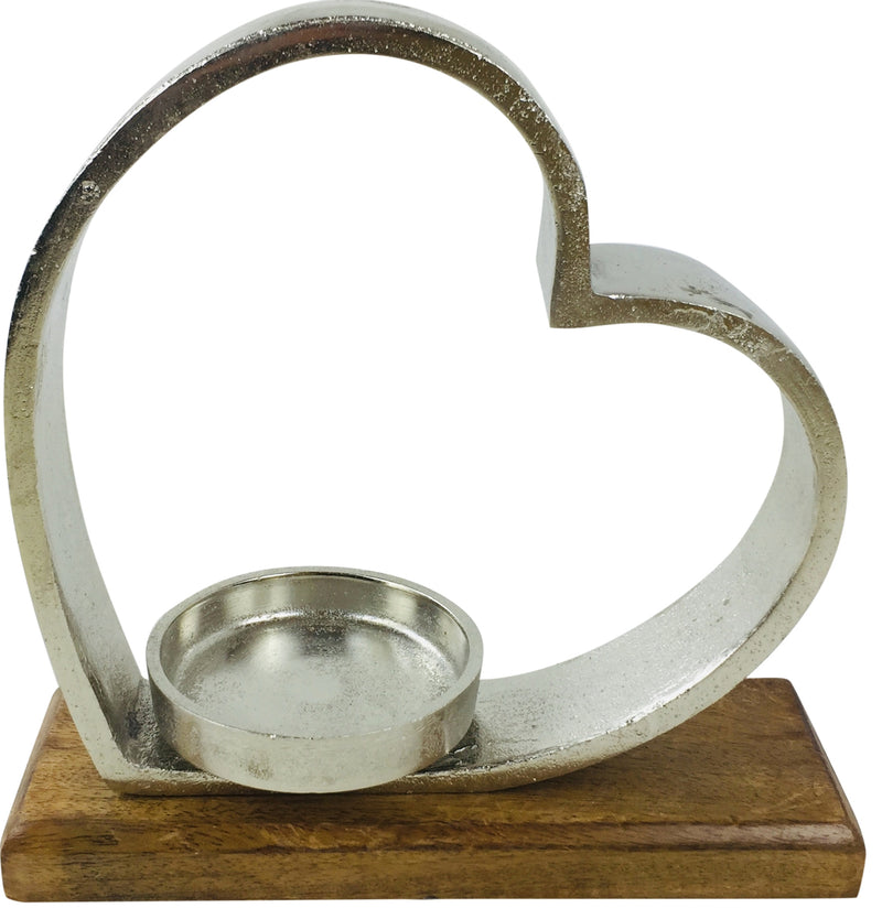 Heart Tea Light Holder 28cm
