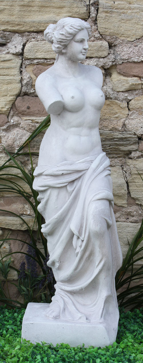 Stone Effect Lady Figure Venus