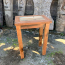 Tall Table - Display Stand - Recycled Wood