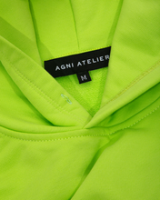 Load image into Gallery viewer, agni atelier fuego hoodie Lime Green