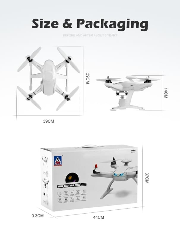 Airhinge - Professional Rc Drone Helicopter Brushless Motor