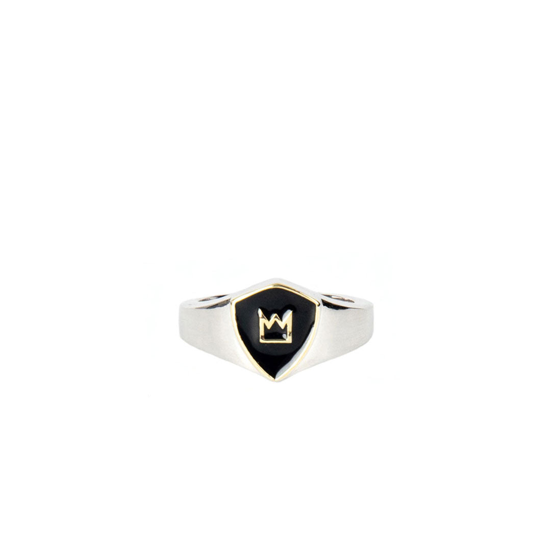 Silver Knight Ring - sergedenimes