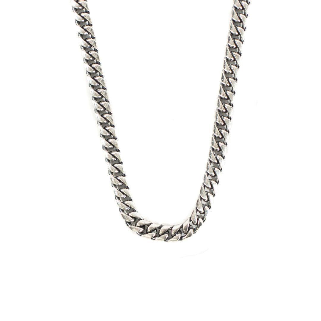 Silver Scale Necklace - Serge DeNimes