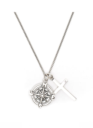Silver Direction Necklace - sergedenimes