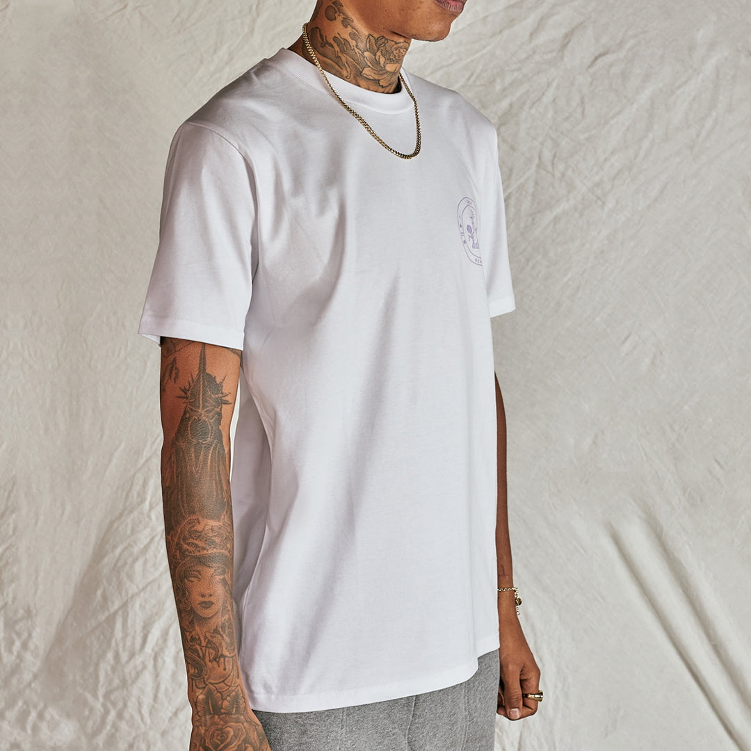 White Crest T-Shirt - Serge DeNimes
