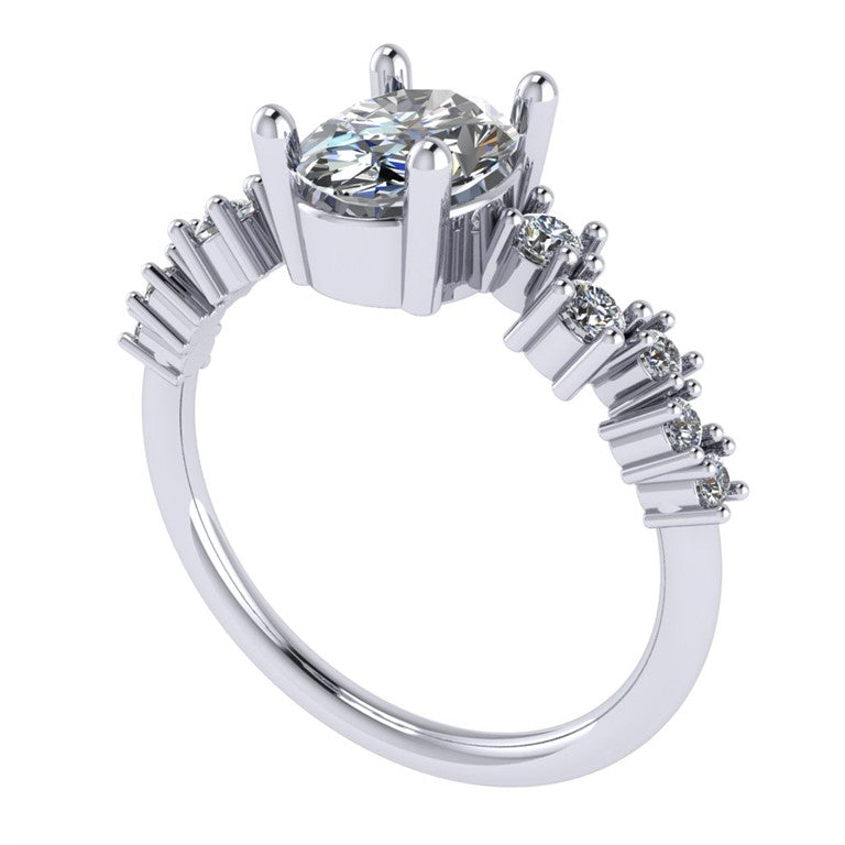 Satellite Engagement Ring