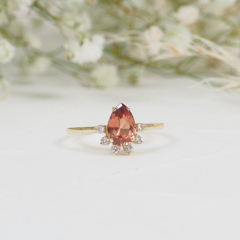 California Sunrise Ring