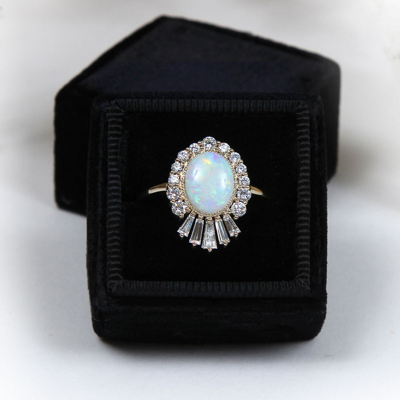 Oasis Engagement Ring