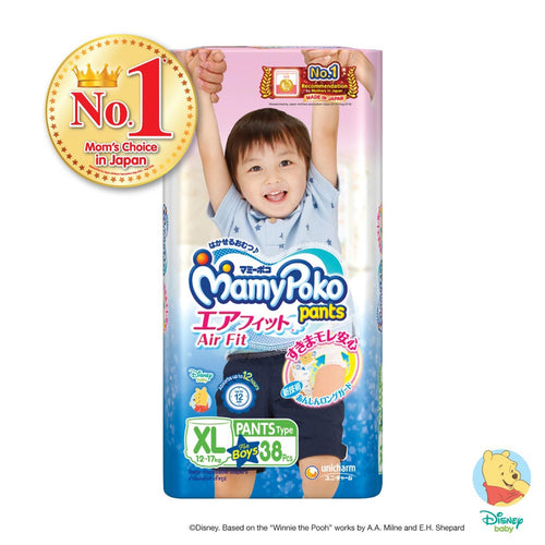 Mamypoko Air Fit Pants Boy - XL38 x 1 pack
