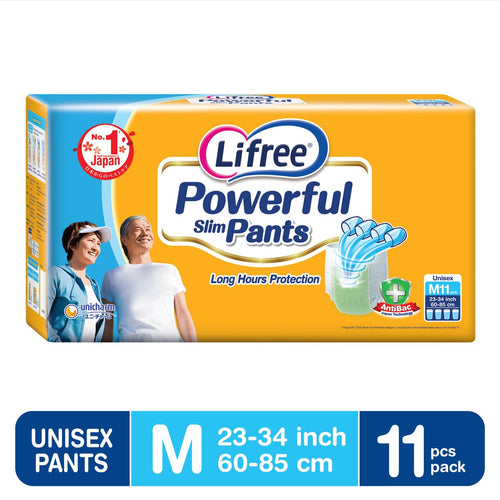 Lifree Powerful Slim Pants AB - M11 x 1 pack