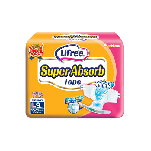 Lifree Super Absorb Tape - L9 x 1 pack