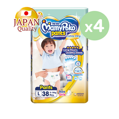 Mamypoko Extra Dry Pants - L38 x 4 packs