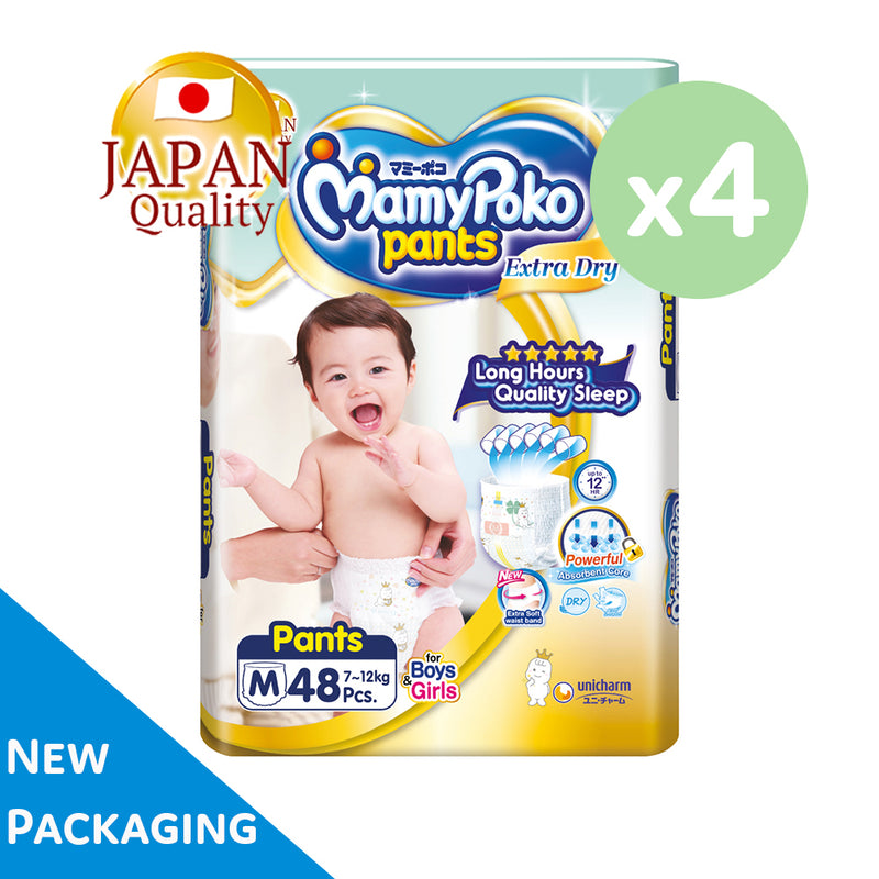 Mamypoko Extra Dry Pants - M48 x 4 packs