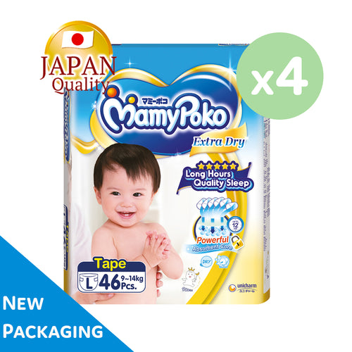 Mamypoko Extra Dry Tape - L46 x 4 packs