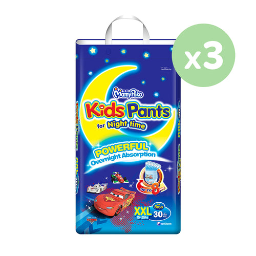 Mamypoko Kids Pants Boy - XXL30 x 3 packs