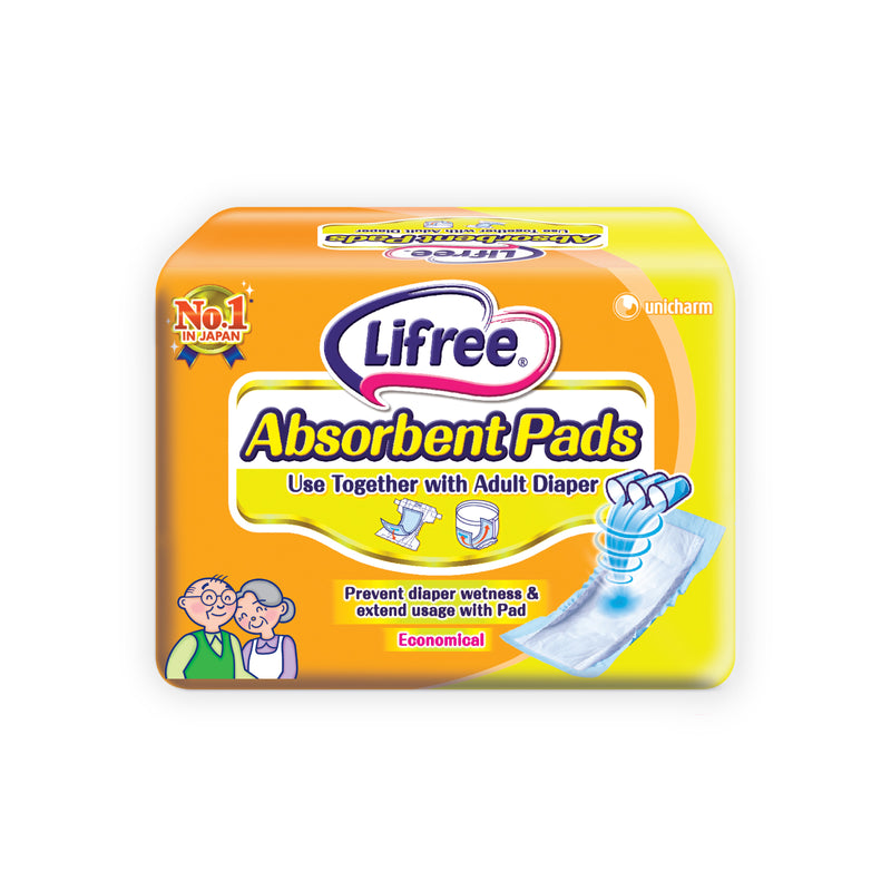 Lifree Absorbent Pads - 18pcs x 1 pack