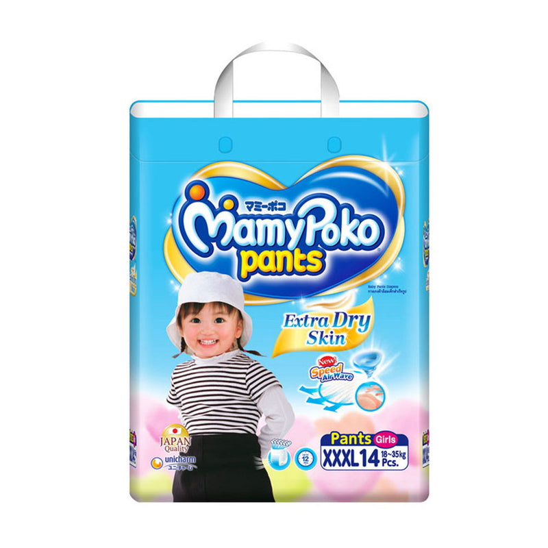 Extra Dry Skin Pants Girl - XXXL14 x 1 pack