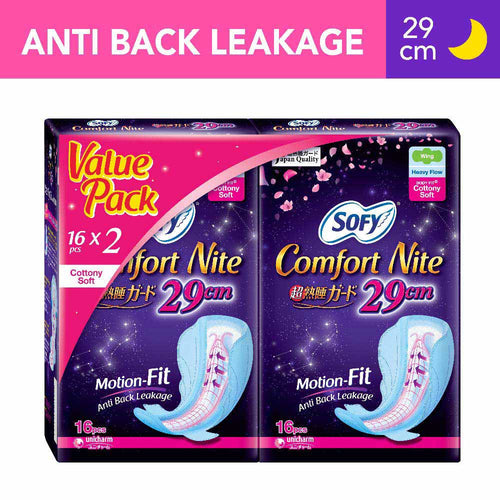 Sofy Body Fit Night Slim Wing 29cm - 16 x 2 packs (Twin Pack)