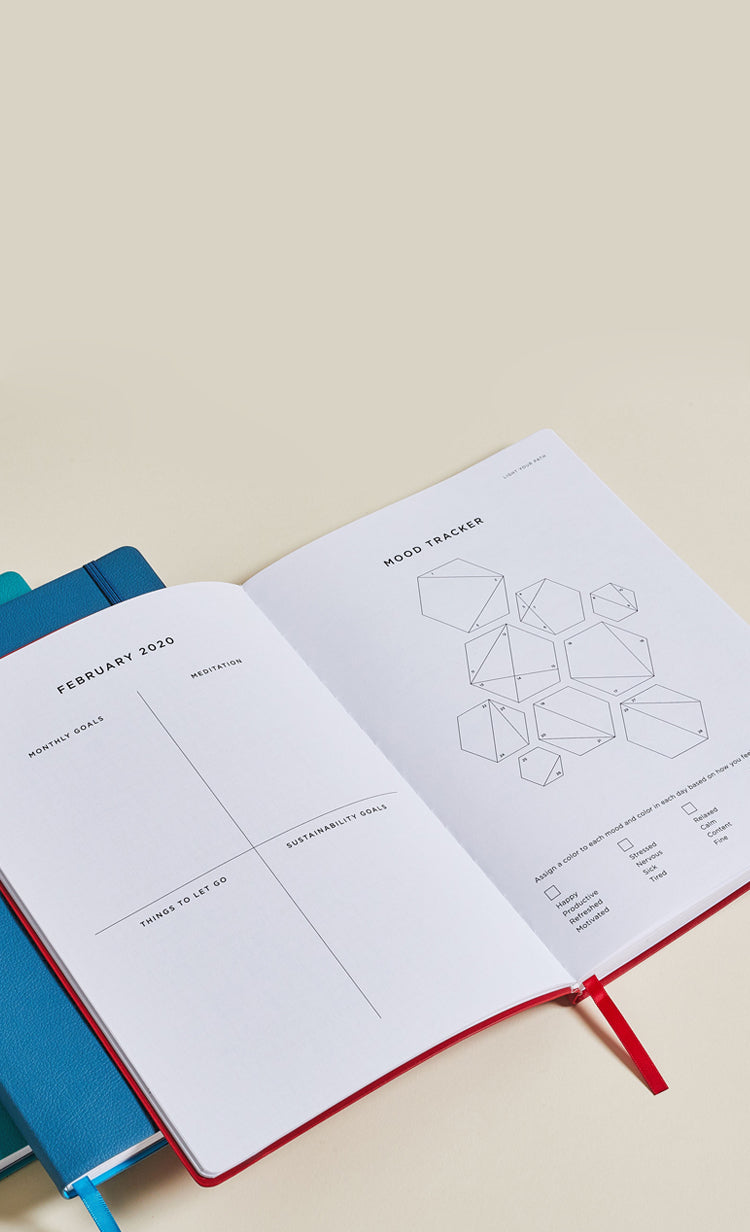 The Planner Designed For Self Improvement And Mindfulness