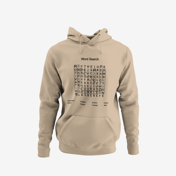Word Search Hoodie