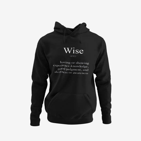 Wise Definition Hoodie