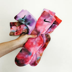 NIKE WATERCOLOR TIE DYE SOCKS 3-PEAT (3-Pack)