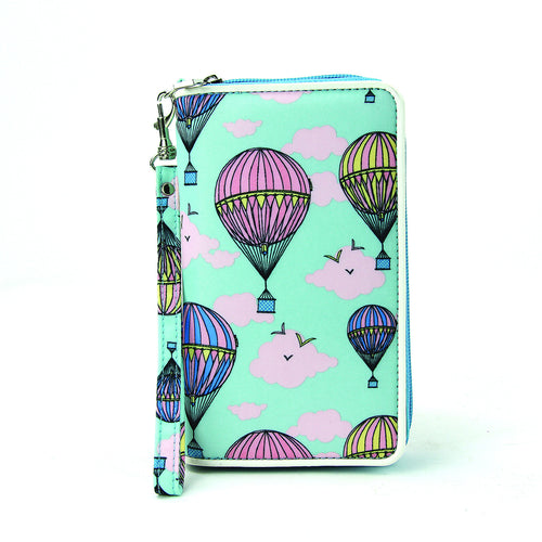 Fly Away Hot Air Balloon Wallet in Nylon