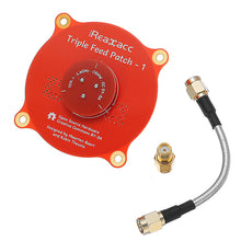 Charger l'image dans la galerie, Realacc Triple Feed Patch-1 5.8GHz 9.4dBi Directional Circular Polarized FPV Pagoda Antenna