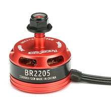 Load image into Gallery viewer, Racerstar Racing Edition 2205 BR2205 2300KV 2-4S Brushless Motor Red for 220 250 RC Drone FPV Racing
