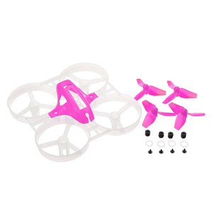 40mm Propellers 75mm Frame Kit Sets For KINGKONG/LDARC Tiny7 Tiny Whoop Racing Quadcopter