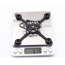 Charger l'image dans la galerie, LANTIAN 105 105mm Carbon Fiber DIY Micro FPV RC Quadcopter Frame Support 8520 Coreless Motor