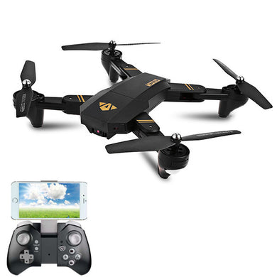 VISUO XS809HW WIFI FPV With Wide Angle HD Camera High Hold Mode Foldable Arm RC Drone Quadcopter RTF