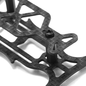 MI110 110mm Carbon Fiber DIY Micro Mini FPV RC Quadcopter Frame Kit Support 8.5x20 Coreless Motor