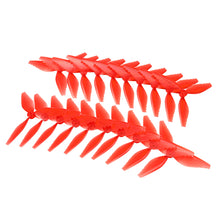 Load image into Gallery viewer, 10 Pairs Racerstar Fish Bone 5041 3 Blade Racing Propeller for Racing