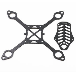 LANTIAN 105 105mm Carbon Fiber DIY Micro FPV RC Quadcopter Frame Support 8520 Coreless Motor
