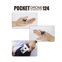 Charger l'image dans la galerie, FQ777-124 Pocket Drone 4CH 6Axis Gyro Drone Quadcopter With Switchable Controller  RTF